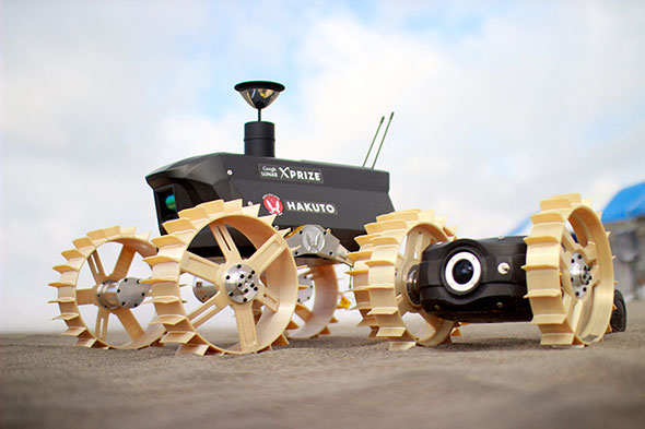 HAKUTOの開発している月面探査機