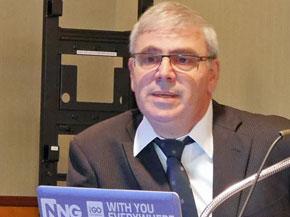 NNG取締役会長のヤコブ・ハルペリン氏