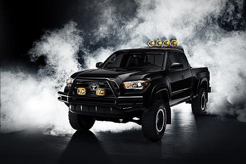 新型「タコマ」で再現した「バック・トゥ・ザ・フューチャー」のピックアップトラック