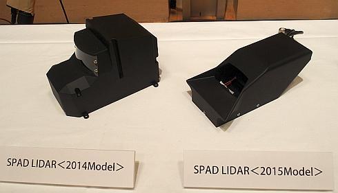 「SPAD LIDAR」の外観