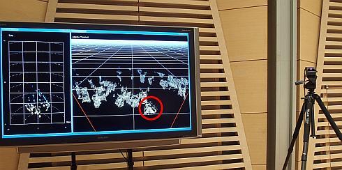 「SPAD LIDAR」による検知結果