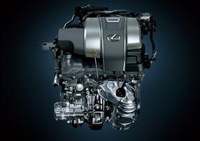 ハイブリッドシステムの排気量 3.5lのV型6気筒エンジン「2GR-FXS」
