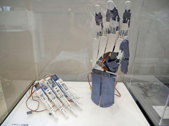 筋電義手「handiii」の試作機