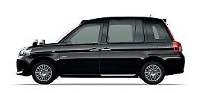 「次世代タクシー」のサイドビュー