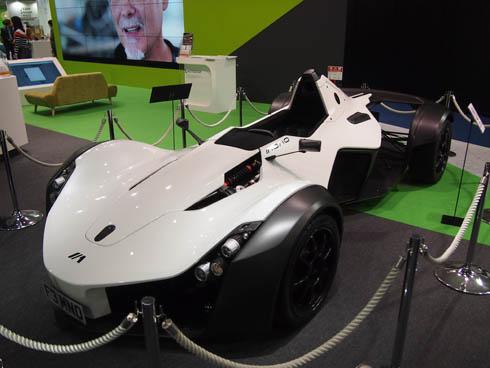英Briggs Automotive Companyのスーパーカー