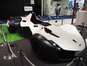 英Briggs Automotive Companyのスーパーカー1