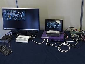 「AXSB」を使った「Connected OS」のデモ