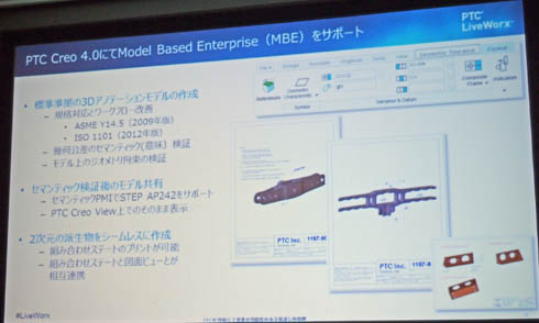 「Model Based Enterprise(MBE)」のサポートについて