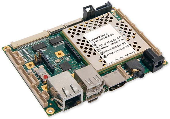 ConnectCore 6 SBC