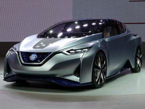日産が東京モーターショー2015で発表したコンセプトEV「Nissan IDS Concept」