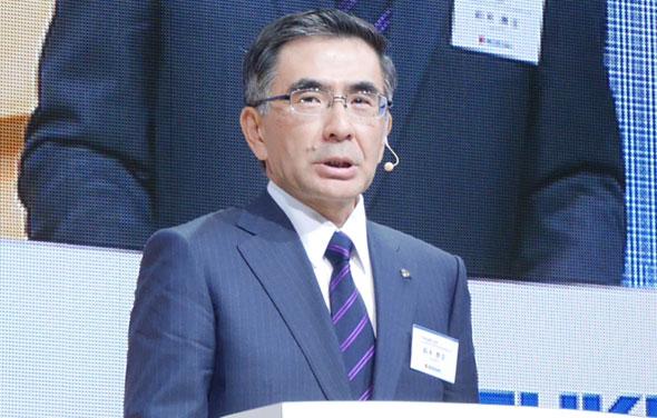 スズキ代表取締役社長の鈴木俊宏氏
