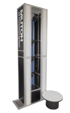 武藤工業の全身撮影用3Dスキャナ「MUTOH 3D PhotoScan System MS-2000N」