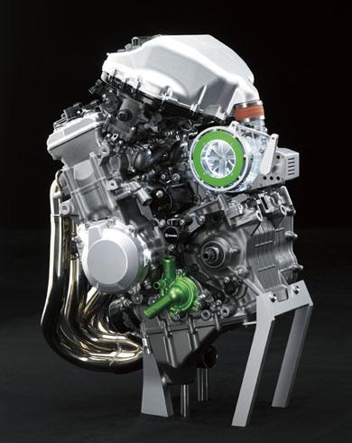 川崎重工業の「バランス型スーパーチャージドエンジン」