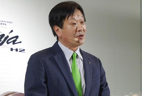 川崎重工業 モーターサイクル&エンジンカンパニー プレジデントの富田健司氏