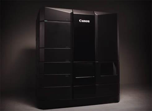 「Canon EXPO 2015 Paris」で披露されたキヤノン自社開発のハイエンド3Dプリンタのコンセプトモデル