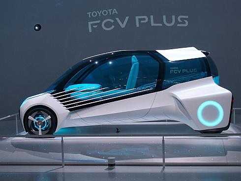将来の燃料電池車コンセプト「TOYOTA FCV PLUS」の外観