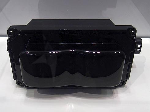 オムロンオートモーティブエレクトロニクスが開発中の「3Dフラッシュライダー」