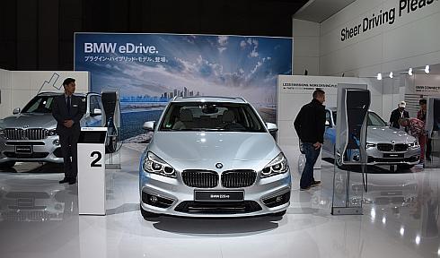 BMWが展示したPHEV3車種