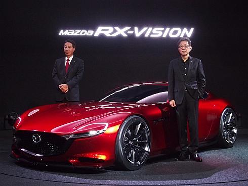 「東京モーターショー2015」で初公開された「RX-VISION」