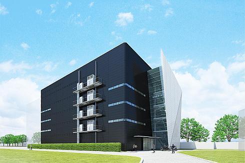ヤマハ発動機の「新デザイン棟」の完成イメージ