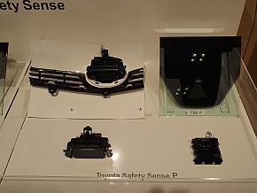 「TSSP」のミリ波レーダーと単眼カメラ