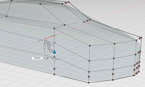 図1 頂点の移動