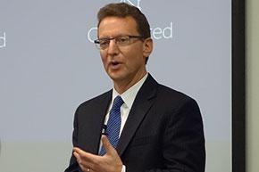 米Microsoft ゼネラルマネージャー IoTテクニカルセールス担当 カール・コーケン氏