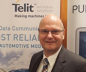 Telit Automotive Solutionsのドミニカス・ヒアール氏