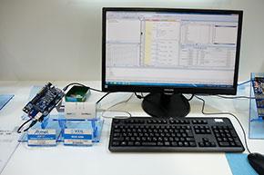 横河ディジタルコンピュータ/アートシステムのブース