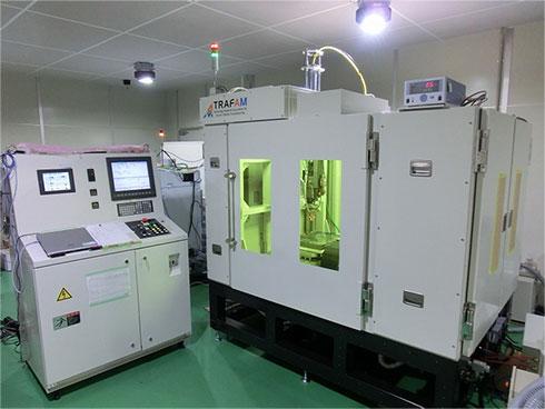 東芝と東芝機械が共同開発した金属3Dプリンタ