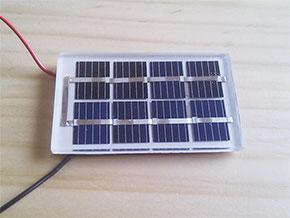光センサー代わりに利用した太陽電池