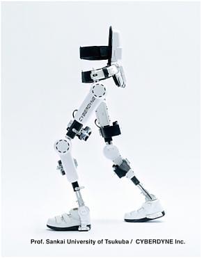 厚生労働省から製造販売承認を取得した「HAL医療用下肢タイプ」