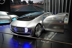メルセデス・ベンツの「F 015 Luxury in Motion」