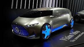 「東京モーターショー2015」で初公開されたコンセプトカー「Vision Tokyo」