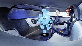 「Vision Tokyo」の車室内のイメージ