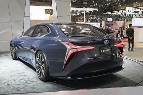レクサスの次世代フラッグシップのコンセプトカー「LF-FC」