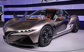 ヤマハ発動機のスポーツカーのコンセプト「SPORTS RIDE CONCEPT」