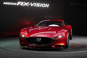 マツダの本格スポーツコンセプト「RX-VISION」