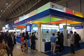 「組込み総合技術展 Embedded Technology 2015(ET2015)」の日本マイクロソフトブース
