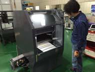 台湾の向上で試作開発中の「3D-Mill K-650」2