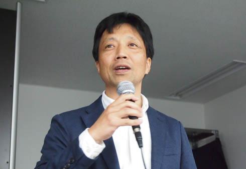岩間工業所 代表取締役 岩間正俊氏