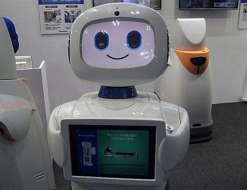 会場内でパナソニックセンター東京での製品説明デモを披露してくれた