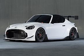「TOYOTA S-FR Racing Concept」のフロントクォータービュー