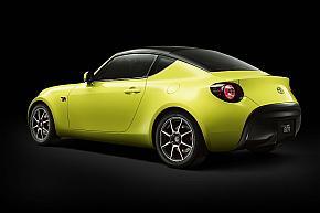 「TOYOTA S-FR Racing Concept」のベース車である「S-FR」のリヤクォータービュー