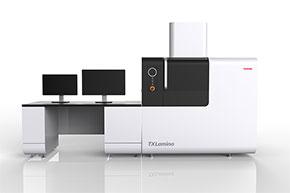 X線ナノフォーカス検査システム「TXLamino」(CG)
