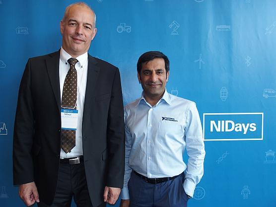 NIのAndreas Haub氏(左)とRahman Jamal氏(右)