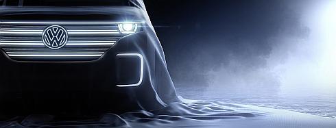 フォルクスワーゲンが「2016 International CES」で公開する電気自動車のコンセプトカーのイメージ