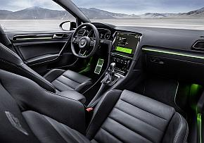 「Golf R Touch concept」の内装
