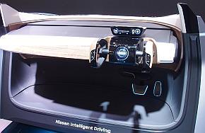 「IDSコンセプト」のコックピット。ドライバーが手動で運転するとき