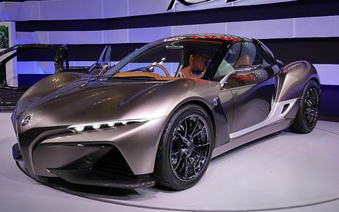ヤマハ発動機が「東京モーターショー2015」で公開したスポーツカーのコンセプト「SPORTS RIDE CONCEPT」